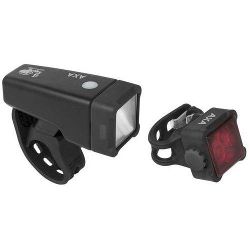 AXA zestaw lampek rowerowych Niteline T4-R