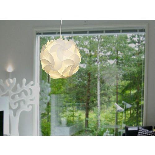 Lampa biała - sufitowa - żyrandol - lampa wisząca - TAMBRE (7081456859094)