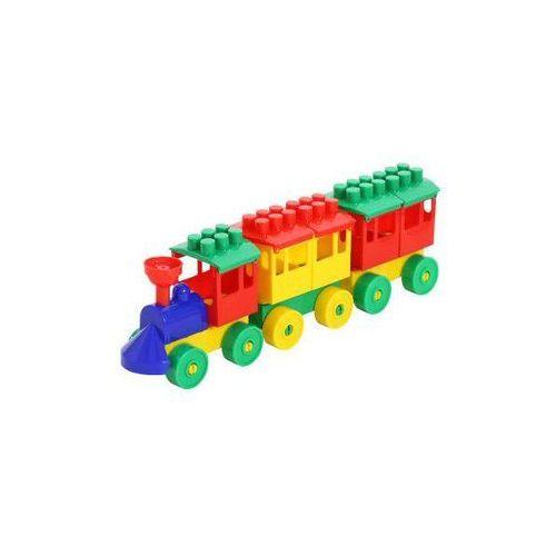 Polesie poland Zestaw - lokomotywa z 2 wagonami