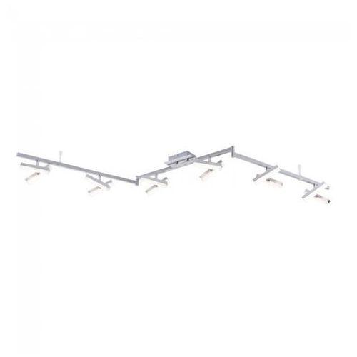 Leuchten Direkt Rico Lampa Sufitowa LED Nikiel matowy, 12-punktowe - Design - Obszar wewnętrzny - Rico - Czas dostawy: od 3-6 dni roboczych