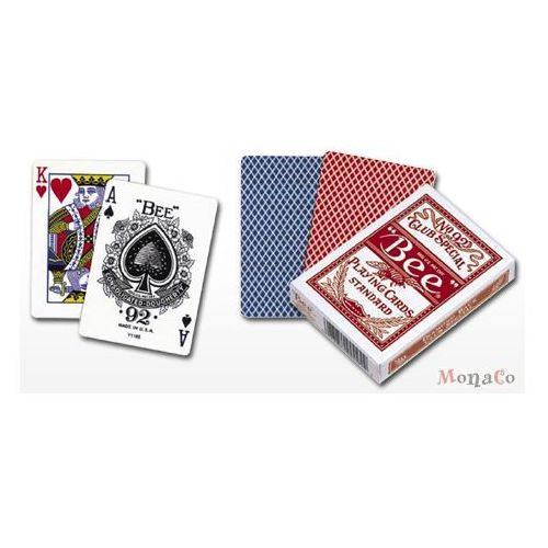 Karty bee standard pokerowe -uspc karty bee standard pokerowe -uspc marki Uspcc - u.s. playing card compa