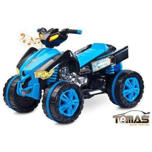 Quad Raptor pojazd na akumulator Toyz Niebieski (5902021527199)