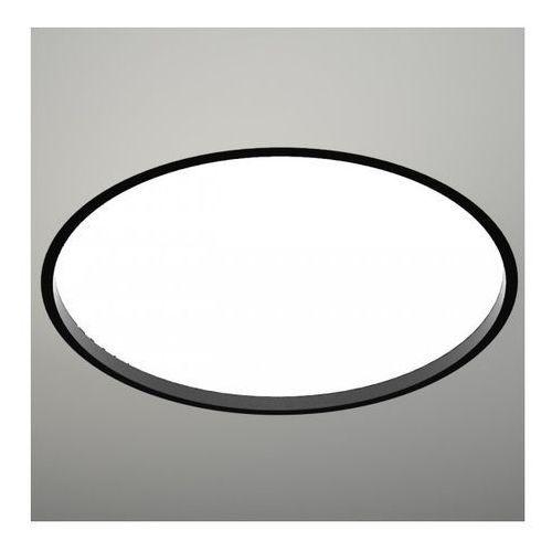 Wpuszczana LAMPA sufitowa OPRAWA podtynkowa HOFU 3319-B/E27/CZ Shilo okrągła czarny, kolor Biały