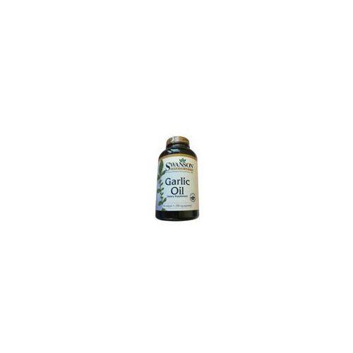 garlic oil 500softgel wyprodukowany przez Swanson