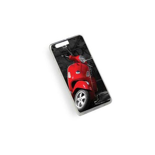 Foto case - huawei p10 plus - etui na telefon foto case - czerwony skuter marki Etuo.pl