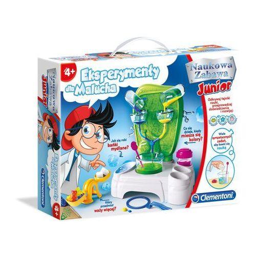 Clementoni Eksperymenty dla malucha 60597 - produkt z kategorii- Zabawki kreatywne