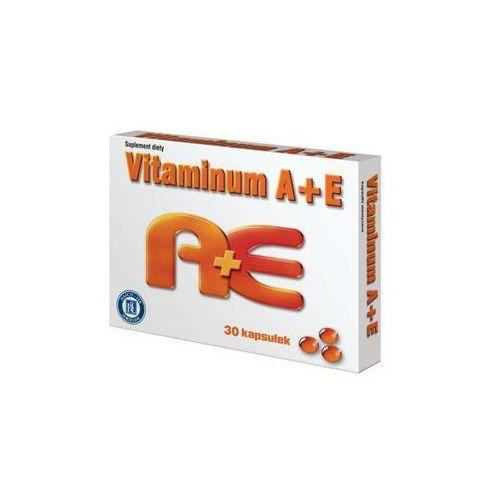 Witamina A+E kapsułki - vitaminum A 2500j.m. +E 100mg 30kapsułek (5904055001904)