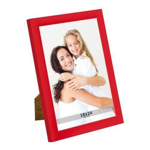 Ramka na zdjęcia 18 x 24 cm czerwona