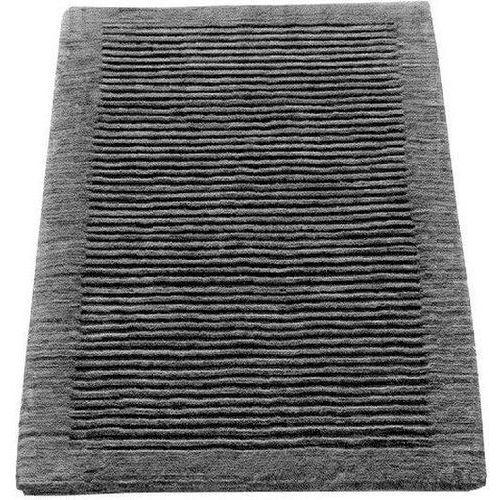 Cawo Dywanik łazienkowy ręcznie tkany 60 x 60 cm antracytowy