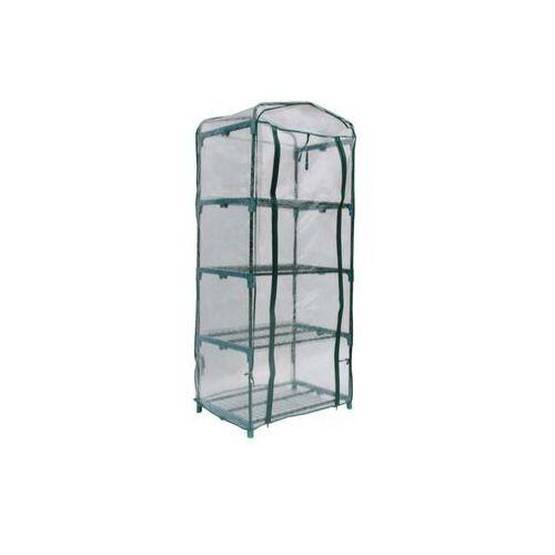 Mini szklarnia balkonowa ze stalową konstrukcją tigridia 0,35m² marki Vente-unique.pl