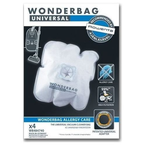 Rowenta wonderbag wb 4847 worki do odkurzacza allergy care (3221613011406)