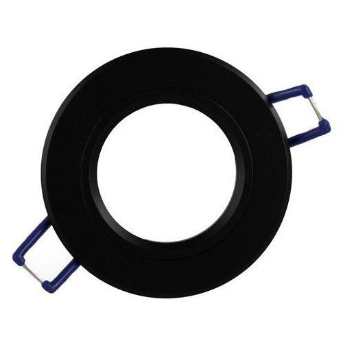 Oprawa sufitowa aluminium okrągła stała czarny matowy marki Ledart