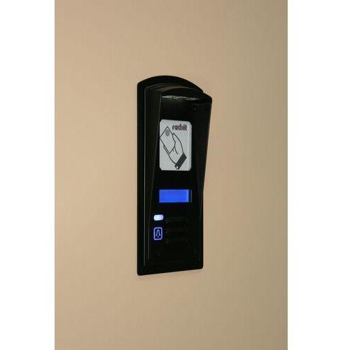 TRWAŁY domofon jednorodzinny z czytnikiem, wyświetlaczem LCD i okienkiem adresowym
