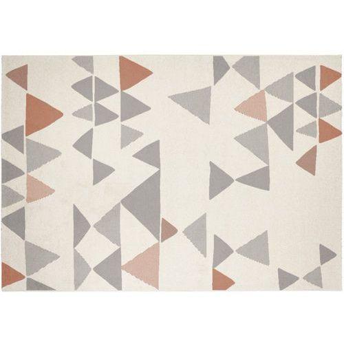 Dywan coimbra w stylu współczesnym – 100% polipropylen – 160 × 230 cm – kolor beżowy, szary i brązowy marki Vente-unique
