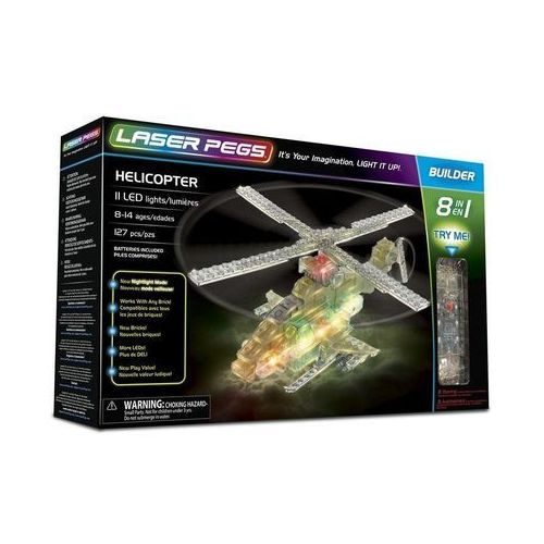 8 in 1 Helicopter - Laser Pegs