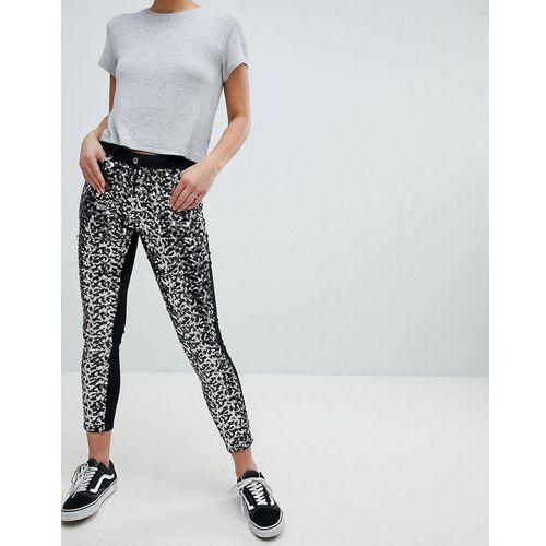 skinny jeans in sequins - black, Parisian