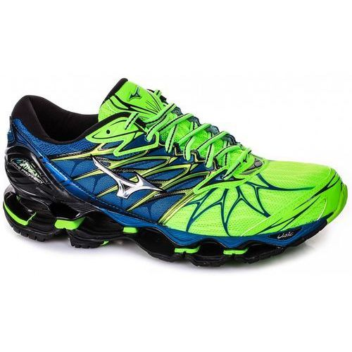 Mizuno Wave Prophecy 7 Green, kolor zielony