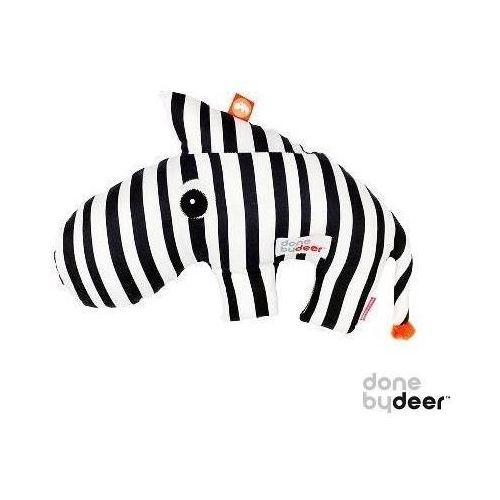 DONE BY DEER Poduszka - Zebra 3 w 1 - poduszka do karmienia i przytulania
