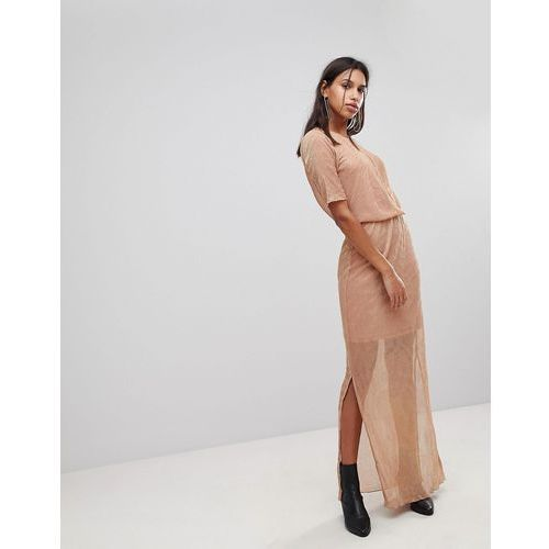 Y.A.S Twinkle Ezra Maxi Dress - Pink