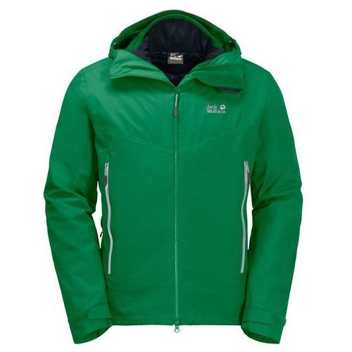 Kurtka 3w1 vermillion pass men - forest green marki Jack wolfskin