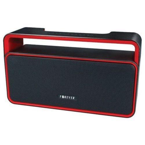 Głośnik mobilny FOREVER BS-600 Czarno-czerwony, BS-600