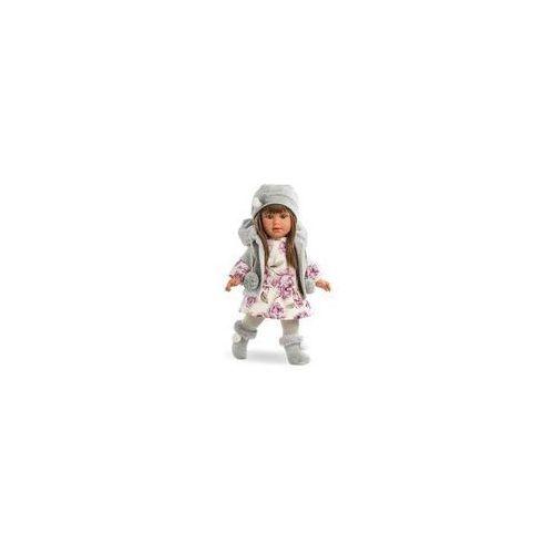 Lalka Martina 40 cm Llorens (szara czapka), 54017