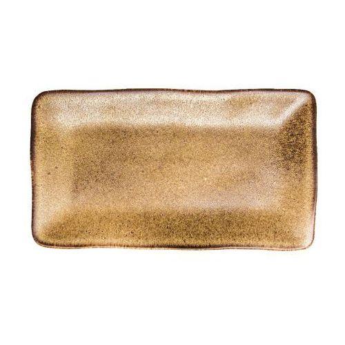 Fine dine Półmisek prostokątny brass