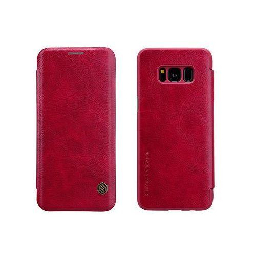 Samsung Galaxy S8 - etui na telefon Nillkin Qin - czerwone