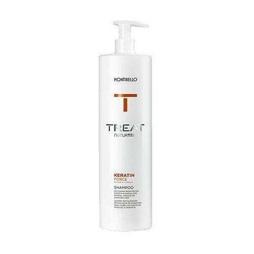 Montibello Keratin Force, szampon z keratyną, nawilża, oczyszcza i wzmacnia 1000ml (8429525112784)