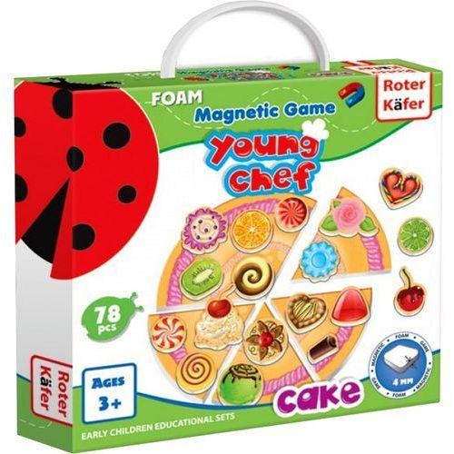 Roter kafer Young chef - cake - gra magnetyczna - darmowa dostawa kiosk ruchu
