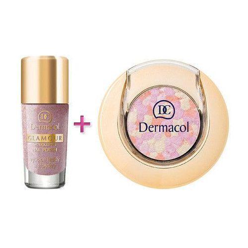 glamour nail polish w kosmetyki zestaw kosmetyków 9ml glamour nail polish 203 + 1,8g glamour eyeshadow 3 wyprodukowany przez Dermacol