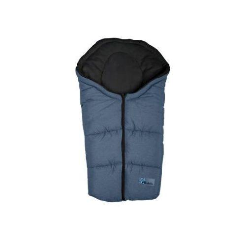 ALTABEBE Śpiworek zimowy Alpin do wózka kolor ciemnoszary/czarny
