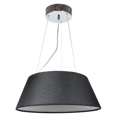 Candellux Lampa wisząca zwis żyrandol gusto okrągły 40 19w led czarny 31-41487 (5906714841487)