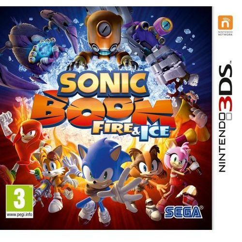 Sega Sonic boom: fire & ice 3ds