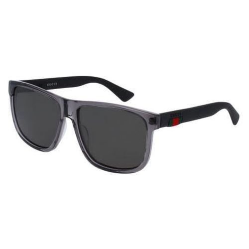 Okulary Słoneczne Gucci GG0010S Polarized 004, kolor żółty