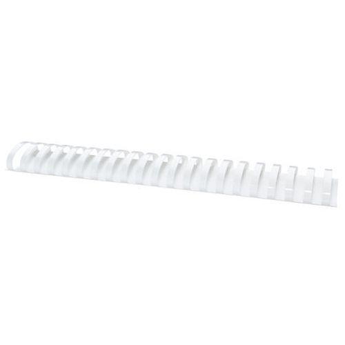 Grzbiety do bindowania , a4, 51mm (510 kartek), 50 szt., białe marki Office products