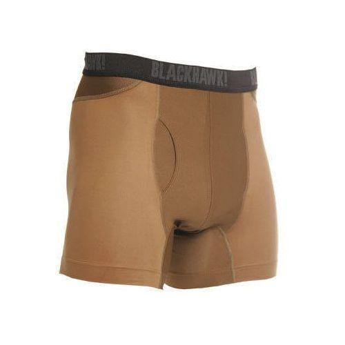 "Blackhawk Slipy engineered fit boxer briefs, męskie materiał 92% nylon 8% spandex, krótkie 6"" - coyote tan"