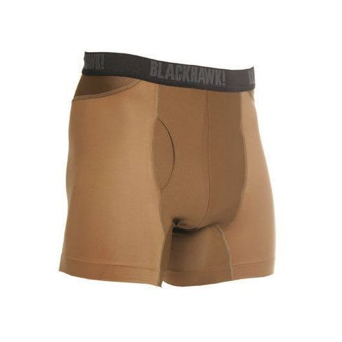 Bokserki engineered fit boxer briefs coyote tan (84bb01ct) - coyote tan marki Blackhawk