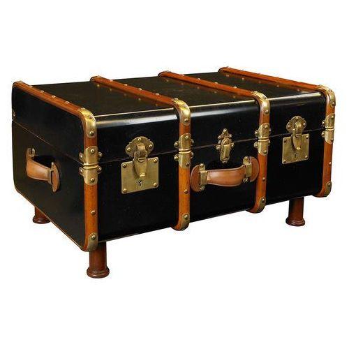 kufer/stolik stateroom, czarny mf040b marki Authentic models