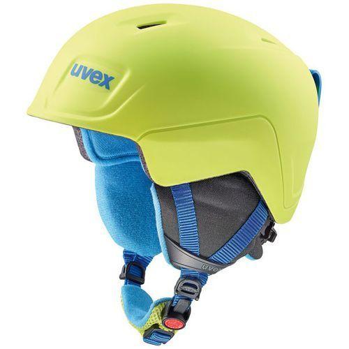 Juniorski kask narciarski manic pro limonka 566/224/6403 51-55 s marki Uvex