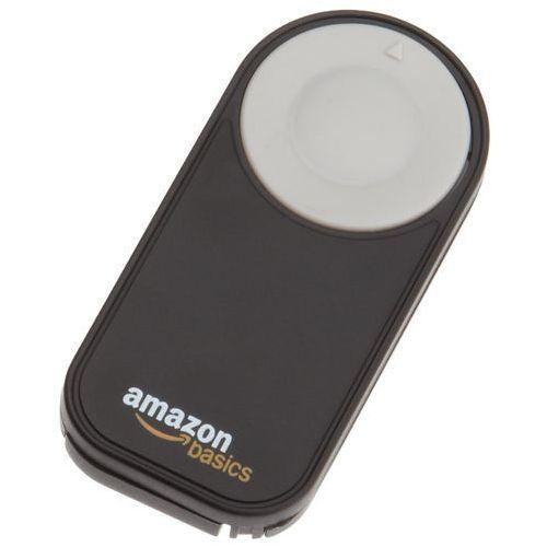 zdalny pilot dla modeli lustrzanek cyfrowych nikon p7000, d3000, d40, d40x, d50, d5000, d60, d70, d7000, d70s, d80 i d90 marki Amazonbasics