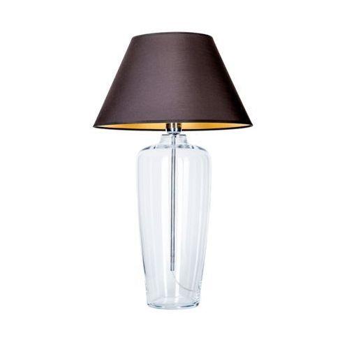 Lampa stołowa lampka bilabo 1x60w e27 czarny/złoty l019031214 marki 4concepts