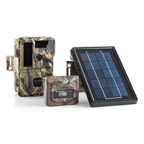 solar grizzly aparat przyrodniczy zestaw czarny led hd 8 mp panel słoneczny marki Duramaxx
