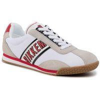 Sneakersy BIKKEMBERGS - Enea B4BKM0087 White/Red/Black, w 7 rozmiarach