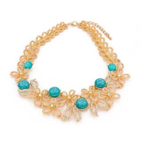 Naszyjnik marble turquoise - TURQUOISE