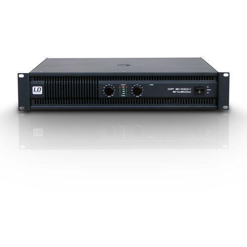 dp2 2400 x końcówka mocy pa 2 x 1200w, 2ohm marki Ld systems