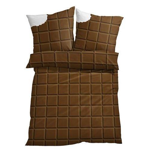 """Bonprix Pościel """"czekolada"""" brązowy"""