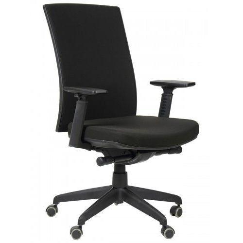 Krzesło biurowe obrotowe z wysuwem siedziska KB-8922B-S/CZARNY, fotel biurowy, KB-8922B-S/CZARNY