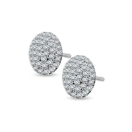 Kolczyki z diamentami i szafirami marki Biżuteria yes
