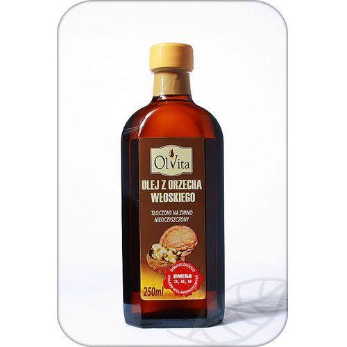 Olej z orzecha włoskiego tłoczony na zimno 250ml - olvita marki Ol'vita. Najniższe ceny, najlepsze promocje w sklepach, opinie.